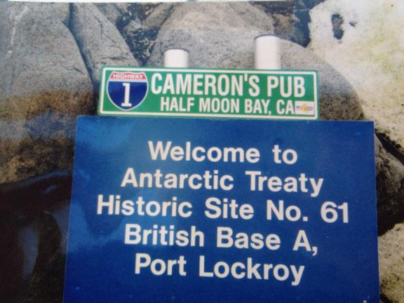 Cameron's and the Antarctic Treaty