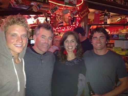 Jeff Clark visits Cameron's Pub